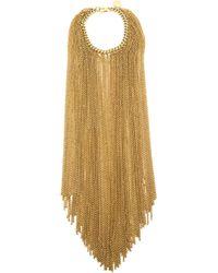 Nina Ricci | Yellow Fringed Chain Bracelet | Lyst