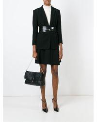 Versace - Black '#greek' Shoulder Bag - Lyst