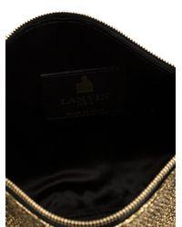 Lanvin - Metallic 'private' Clutch - Lyst