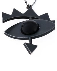 Katrine Kristensen - Black 'big Eye' Necklace - Lyst