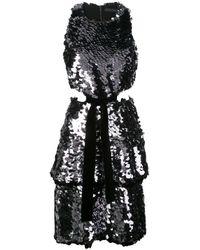 Vestido corto con lentejuelas Proenza Schouler de color Black