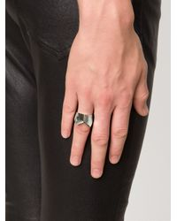 Y. Project - Gray Y Shaped Ring for Men - Lyst