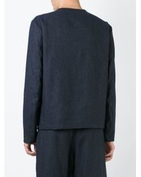 Societe Anonyme - Blue Société Anonyme Crew Neck Jacket for Men - Lyst