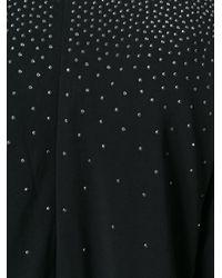 MICHAEL Michael Kors - Black Embellished V-neck Jumpsuit - Lyst