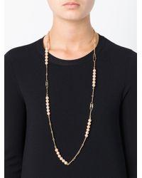 Aurelie Bidermann Metallic Long 'cheyne Walk' Necklace