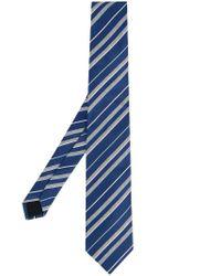Cravate à rayures Cerruti 1881 pour homme en coloris Blue