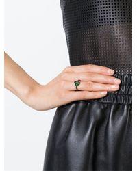 Iosselliani - Black 'all That Jewels' Ring - Lyst