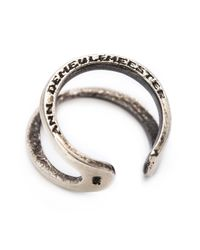 Ann Demeulemeester | Metallic Phalanx Ring | Lyst