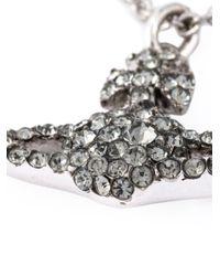 Vivienne Westwood Anglomania - Metallic Crystal Orbit Necklace - Lyst