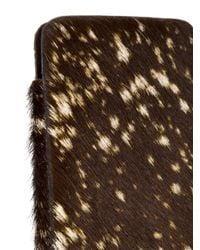Isaac Reina | Black Dotted Fur Iphone 6 Case | Lyst