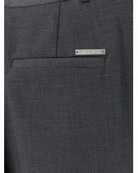 MICHAEL Michael Kors - Gray Flared Trousers - Lyst
