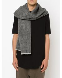 Denis Colomb - Black 'namche' Scarf - Lyst