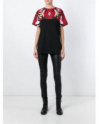 Marcelo Burlon - Black Tiger Print T-shirt - Lyst