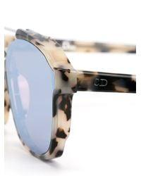 Dior Black 'abstract' Sunglasses