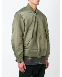 Yeezy Natural Adidas Originals By Kanye West Bomber Jacket for men