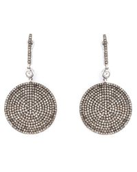 Astley Clarke - Metallic Large 'icon' Diamond Earrings - Lyst