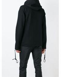 Hood By Air - Black Hba Print Hoodie for Men - Lyst