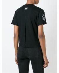 Philipp Plein | Black 'stones' T-shirt | Lyst