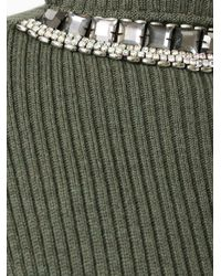 Marni - Green Short Sleeve Sweater - Lyst