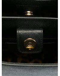 Dolce & Gabbana - Black Large 'monica' Tote - Lyst