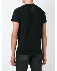 DIESEL | Black Vitkac Print T-shirt for Men | Lyst