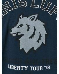 DIESEL | Blue 'canis Lupus' T-shirt for Men | Lyst