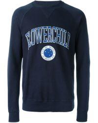 DIESEL | Blue Flowerchild Print Sweatshirt for Men | Lyst