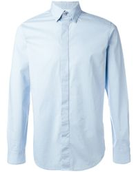 DIESEL | Blue Classic Shirt for Men | Lyst
