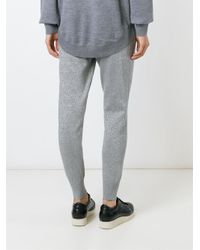 Markus Lupfer - Gray Tapered Track Pants - Lyst