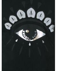 KENZO   Black 'eye' T-shirt for Men   Lyst