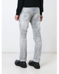 DSquared² | Gray 'slim' Jeans for Men | Lyst