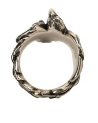 Werkstatt:münchen - Gray Eagle Ring for Men - Lyst