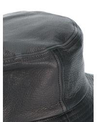 HL Heddie Lovu Black Classic Bucket Hat for men