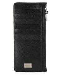 Dolce & Gabbana - Black Long Cardholder Wallet for Men - Lyst