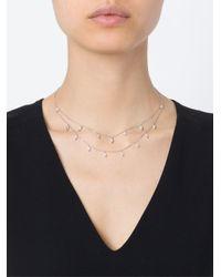 Stone Metallic 'cry Me A River' Diamond Necklace