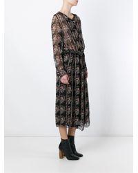 Étoile Isabel Marant - Black 'saphir' Dress - Lyst
