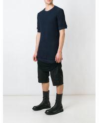 Alexandre Plokhov Black Slim Fit T-shirt for men