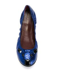 Marc By Marc Jacobs | Blue 'sachetto Mouse' Ballerinas | Lyst