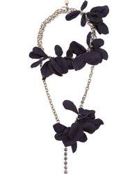 Lanvin - Black 'gina-sautoir' Necklace - Lyst
