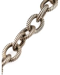 Lanvin - Black 'gina-sautoir' Necklace - Lyst