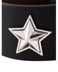 Givenchy - Black Star Stud Bracelet - Lyst