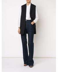 See By Chloé - Blue Bootcut Jeans - Lyst