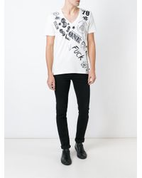 Philipp Plein - White Money T-shirt for Men - Lyst