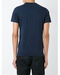 KENZO Blue Paris T-shirt for men