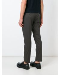 Lanvin - Green Tailored Trousers for Men - Lyst
