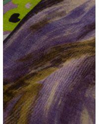 Pierre Louis Mascia - Multicolor Printed Scarf - Lyst