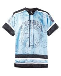 Astrid Andersen | Blue Printed Hockey Shirt for Men | Lyst