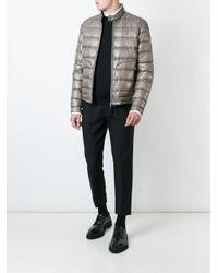Moncler | Gray 'acorus' Padded Jacket for Men | Lyst