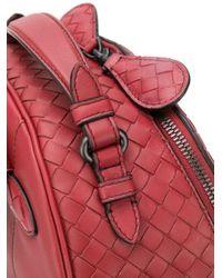 Bottega Veneta イントレチャート バックパック Red