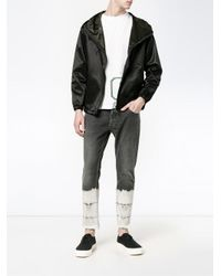 Palm Angels Black Cropped Jeans for men